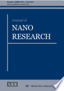 Journal of Nano Research Book