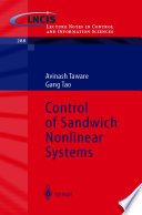 Control of Sandwich Nonlinear Systems