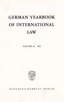 German Yearbook of International Law