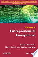 Entrepreneurial Ecosystems