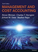 Cover of Management and Cost Accounting with MyAccountingLab