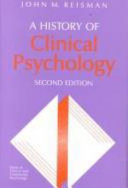 A History of Clinical Psychology