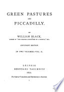 Green Pastures and Piccadilly0