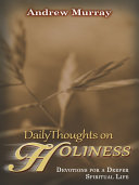 Daily Thoughts on Holiness