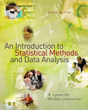 An Introduction to Statistical Methods and Data Analysis Book