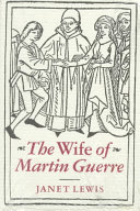 The Wife of Martin Guerre Book