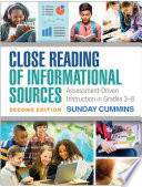 Close Reading of Informational Sources  Second Edition