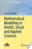 Mathematical Modelling in Health, Social and Applied Sciences