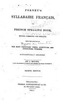 Pdf Porney's Syllabaire Français, Or, French Spelling Book, Revised, Corrected, and Improved