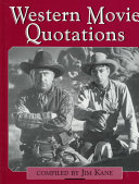 Western Movie Quotations Book