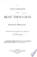 A Cyclopedia of the Best Thoughts of Charles Dickens Book PDF