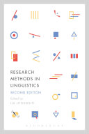 Research Methods in Linguistics