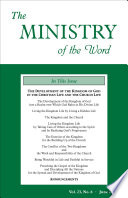 The Ministry Of The Word Vol 23 No 6