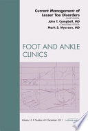 Current Management Of Lesser Toe Deformities An Issue Of Foot And Ankle Clinics E Book Book PDF