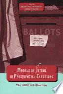 Models of Voting in Presidential Elections
