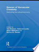 Spaces of Vernacular Creativity Book