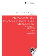 International Best Practices in Health Care Management