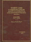 Torts and Compensation ebook