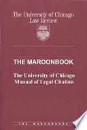 The Maroonbook