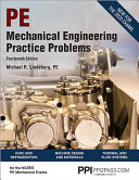 Mechanical Engineering Practice Problems Book
