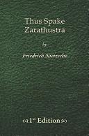 Thus Spake Zarathustra   1st Edition