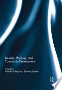 Tourism, Planning, and Community Development