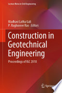 Construction in Geotechnical Engineering Book