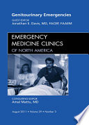 Genitourinary Emergencies An Issue Of Emergency Medicine Clinics E Book