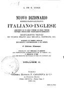 Dizionario delle lingue italiana-inglese