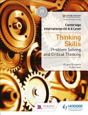 Books - Cam/Ie As & A Level Thinking Skills | ISBN 9781510421899