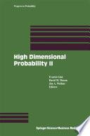 High Dimensional Probability II Book
