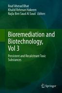 Bioremediation and Biotechnology  Vol 3