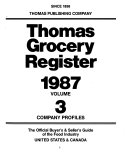 Thomas Grocery Register Book