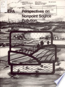 Perspectives on Nonpoint Source Pollution