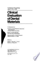 Clinical evaluation of dental materials