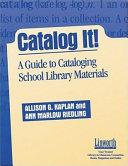 Catalog It  Book PDF