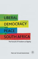 Liberal Democracy and Peace in South Africa Pdf/ePub eBook