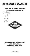 Diesel Electric Locomotive Operators Manuals