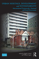 Urban Heritage  Development and Sustainability
