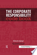 The Corporate Responsibility Code Book Book PDF