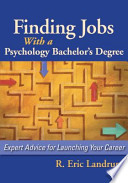 Finding Jobs with a Psychology Bachelor's Degree