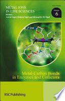 Metal Carbon Bonds In Enzymes And Cofactors Book PDF