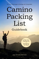 Camino Packing List Guidebook