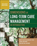 Dimensions Of Long Term Care Management