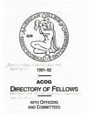 ACOG Directory of Fellows with Bylaws and Councils, Commissions, Committees, and Task Forces