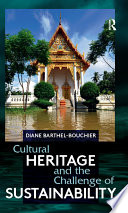 Cultural Heritage And The Challenge Of Sustainability PDF