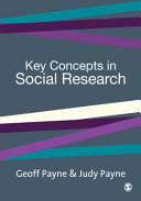 Pdf Key Concepts in Social Research Telecharger