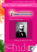 The International Journal of Indian Psychology, Volume 1, Issue 4, No. 2