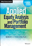 Pdf Applied Equity Analysis and Portfolio Management Telecharger