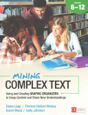 Mining complex text, 6-12 : using and creating graphic organizers to grasp content and share new und